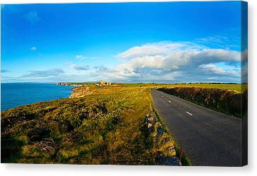 Country Road Leading To The Old Copper Canvas Print by Panoramic Images