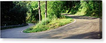 Country Road Southern Germany Canvas Print by Panoramic Images