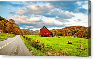 Country Road...west Virginia Canvas Print