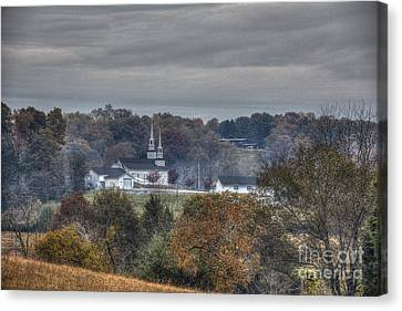 Hdr Landscape Canvas Print - Country Salvation by Sherri Duncan