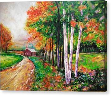 Country Side Canvas Print by Emery Franklin