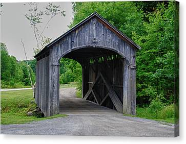 Country Store Bridge 5656 Canvas Print by Guy Whiteley