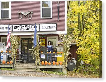 Country Store Canvas Print by Christian Heeb