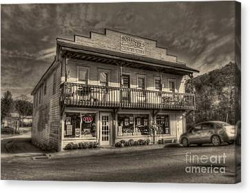 Country Store Open Canvas Print by Dan Friend