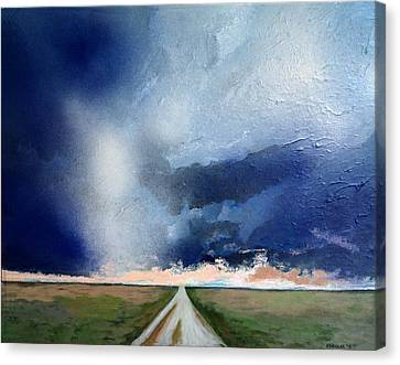 Country Storm Canvas Print by Robert Handler