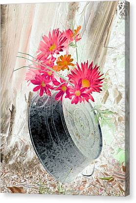 Country Summer - Photopower 1499 Canvas Print by Pamela Critchlow