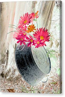 Country Summer - Photopower 1500 Canvas Print by Pamela Critchlow