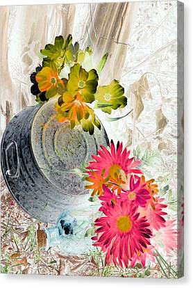 Country Summer - Photopower 1509 Canvas Print by Pamela Critchlow