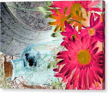 Country Summer - Photopower 1510 Canvas Print by Pamela Critchlow