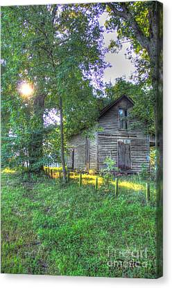 Country Sunrise Canvas Print