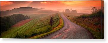 Country Sunrise Bradys Ridge Rd Canvas Print
