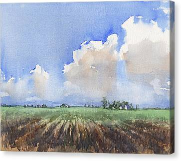 Countryside Canvas Print by Max Good