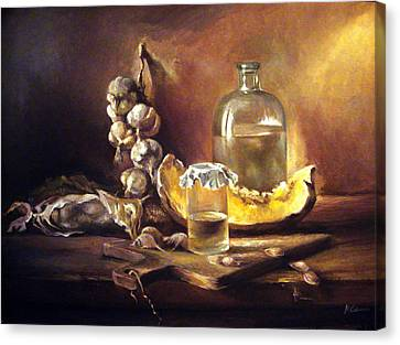 Countryside Still Life 2 Canvas Print by Mikhail Savchenko