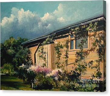 Countryside Summer Canvas Print by Mikhail Savchenko