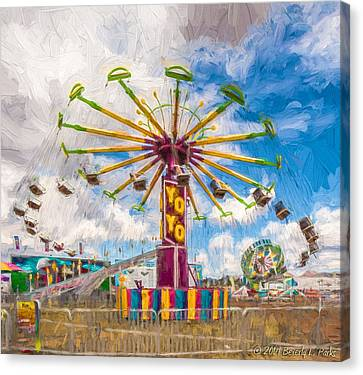 Canvas Print featuring the photograph County Fair by Beverly Parks
