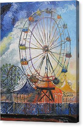 County Fair Canvas Print by Gary Smith