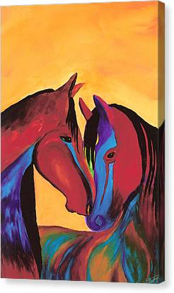 Coupled For Life Canvas Print