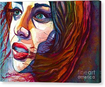 Courage Canvas Print by D Renee Wilson