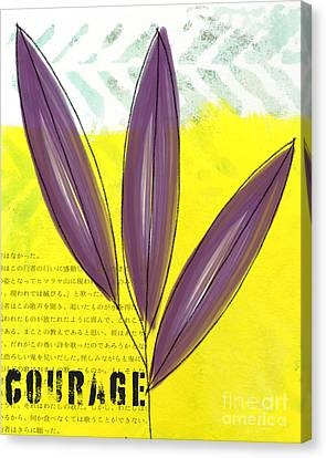 Courage Canvas Print by Linda Woods