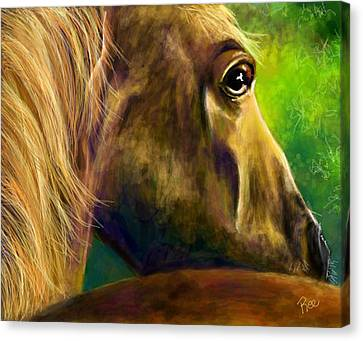 Canvas Print - Courage by Maria Schaefers