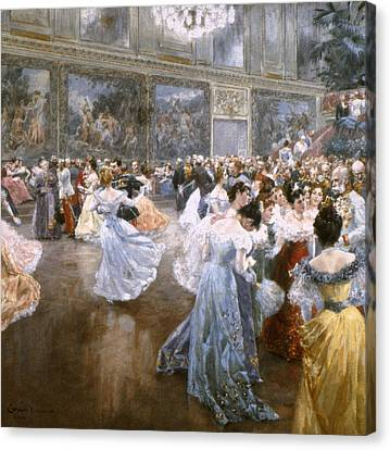 Court Ball At The Hofburg Canvas Print