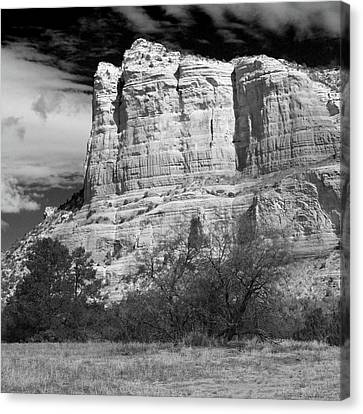Canvas Print featuring the photograph Courthouse Rock by Harold Rau