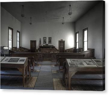 Courtroom Canvas Print