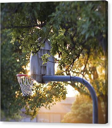 Courtside Canvas Print