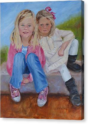 Cousins Canvas Print by Carol Berning