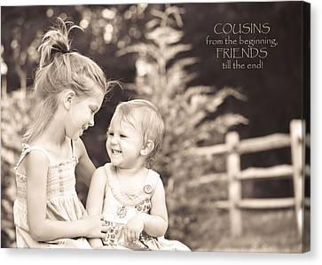 Cousins Canvas Print by Trish Tritz