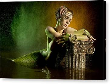 Couture Mermaid Canvas Print by Adam Chilson