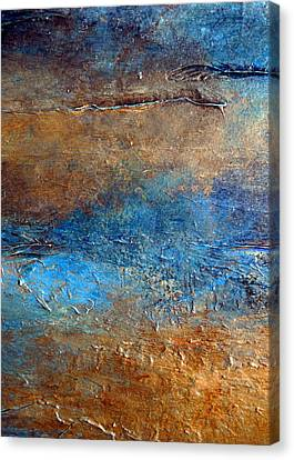 Cove Canvas Print by Holly Anderson