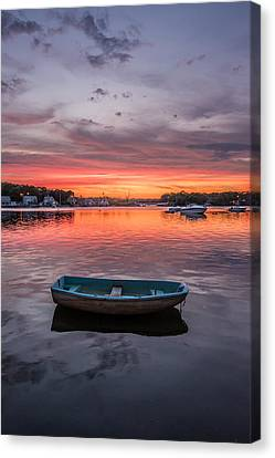 Cove Street View Canvas Print by Phillip Damiano
