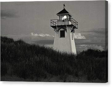 Covehead Harbour Canvas Print by Chris Miner