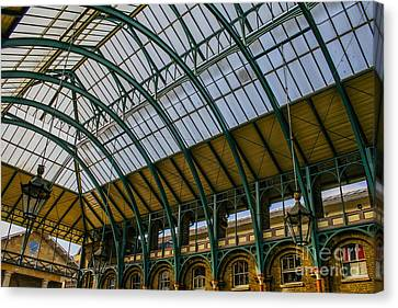 Covent Garden Market Canvas Print by Patricia Hofmeester