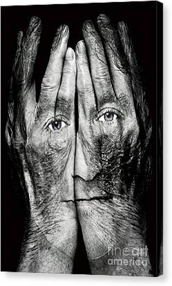 Cover Thy Faces Canvas Print by Gary Keesler