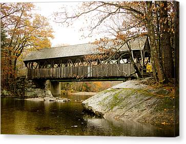 Canvas Print - Covered Bridge  by Allan Millora