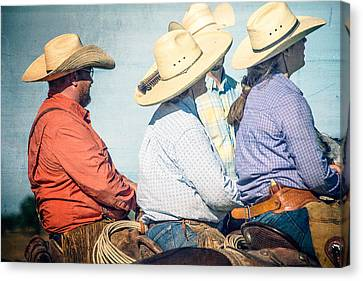 Cowboy Colors Canvas Print