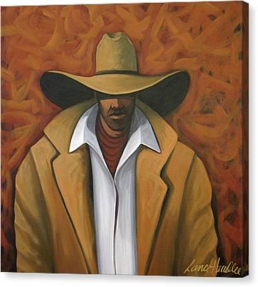 Cowboy  Canvas Print by Lance Headlee