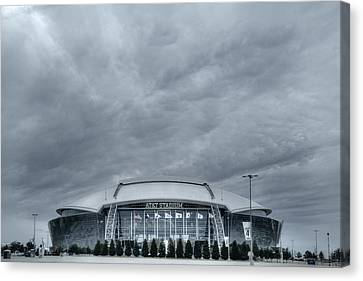 Cowboy Stadium Canvas Print by Joan Carroll