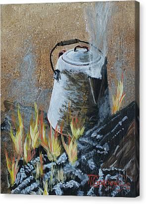 Cowboy Style Canvas Print by Timithy L Gordon