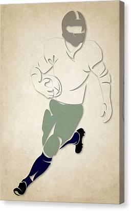 Cowboys Shadow Player Canvas Print by Joe Hamilton
