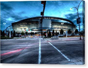 Cowboys Stadium Pregame Canvas Print