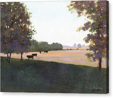 Cows 5 Canvas Print