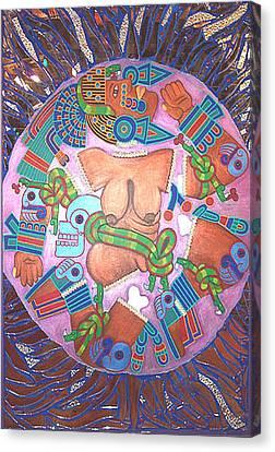 Coyolxauhqui Canvas Print