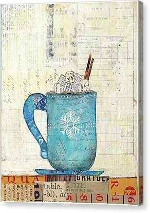 Cozy Cups I Canvas Print by Courtney Prahl