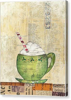 Cozy Cups II Canvas Print