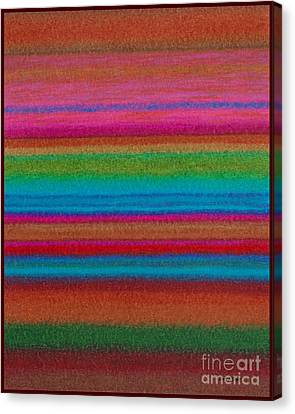 Cp014 Stripes Canvas Print by David K Small