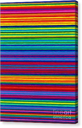 Cp038 Tapestry Stripes Canvas Print by David K Small