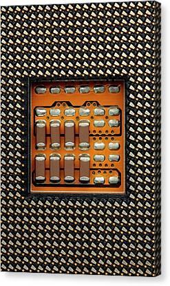 Cpu Socket Canvas Print by Antonio Romero